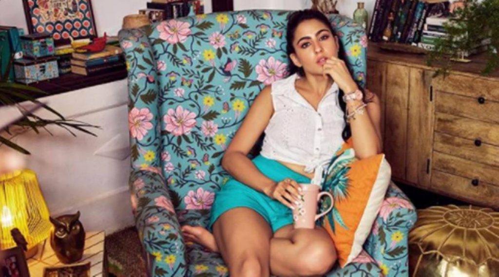 Sara Ali Khan, Sara Ali Khan fashion, Sara Ali Khan weight loss, Sara Ali Khan family, Sara Ali Khan interview, Sara Ali Khan Elle, Sara Ali Khan films, indian express news