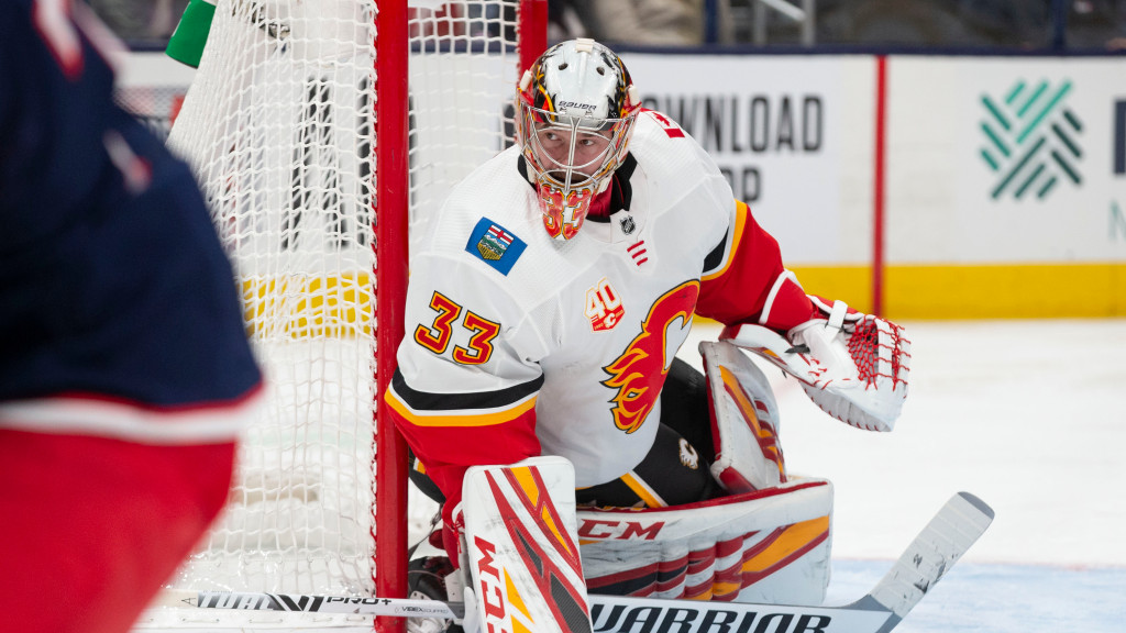 Dave Rittich records notable shutout for the Calgary Flames