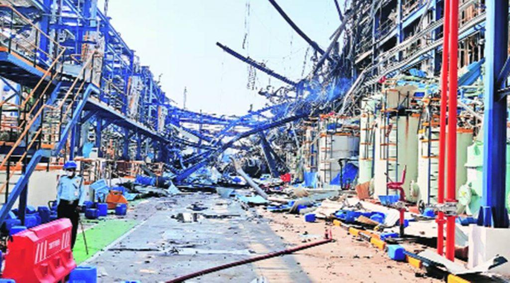 Bharuch UPL plant, Bharuch UPL plant fire, Bharuch UPL plant fire deaths, gujarat news, indian express news