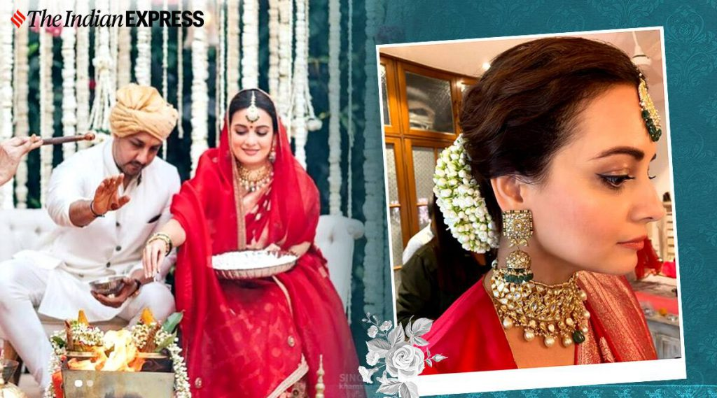 Makeup artist shares video of Dia Mirza getting ready on her wedding day; here's how to get the bridal look