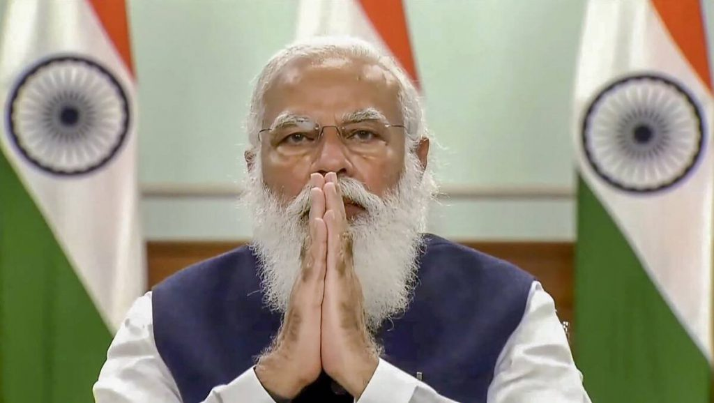 PM Modi: Govt working on four fronts to keep India healthy