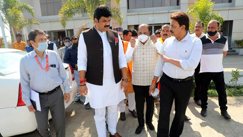 State-of-the-art RTO buildings will be built in all divisional headquarters - Transport Minister Shri Rajput