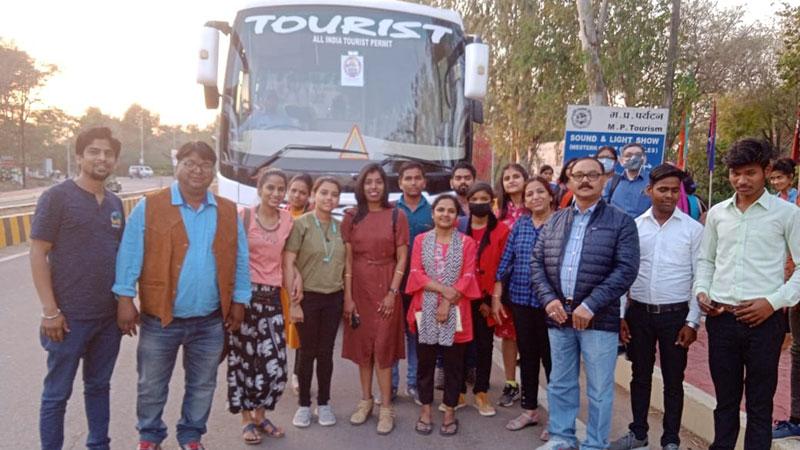 Thrill of e-bike tour and Dhubela tourism at Khajuraho dance festival
