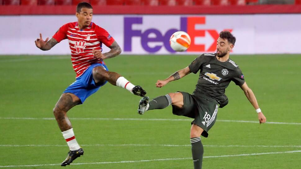 UEFA Europa League: Marcus Rashford and Bruno Fernandes give Manchester United one foot in semis