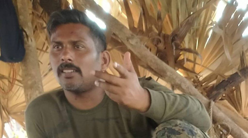 Chhattisgarh: Maoists release picture of the jawan in their custody