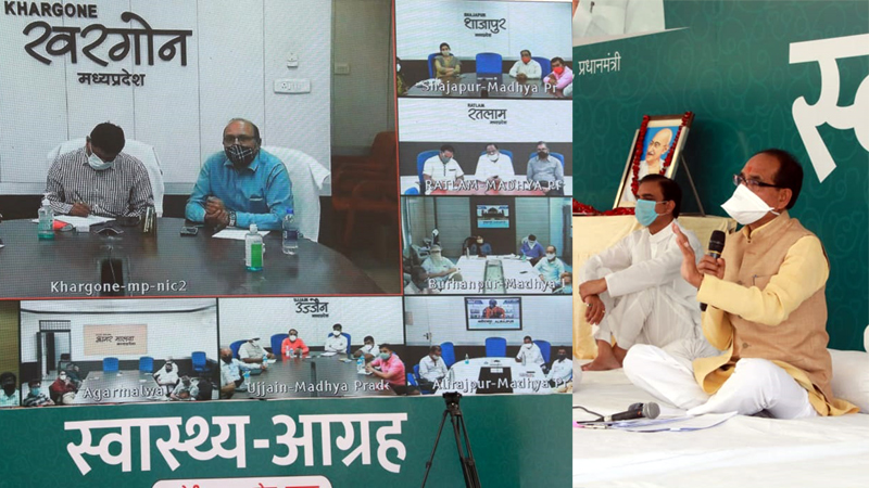 Chief Minister Shri Chouhan discussed with prominent people in divisions and districts