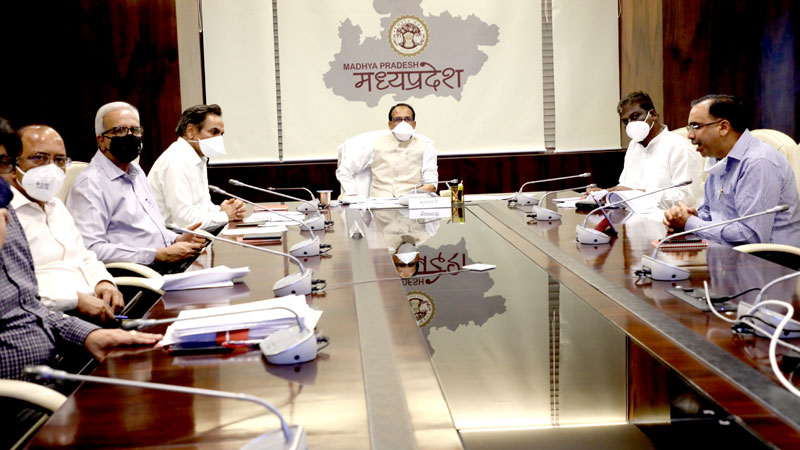 It is the time of crisis and examination, work with patience, restraint and self-confidence: Chief Minister Shri Chouhan