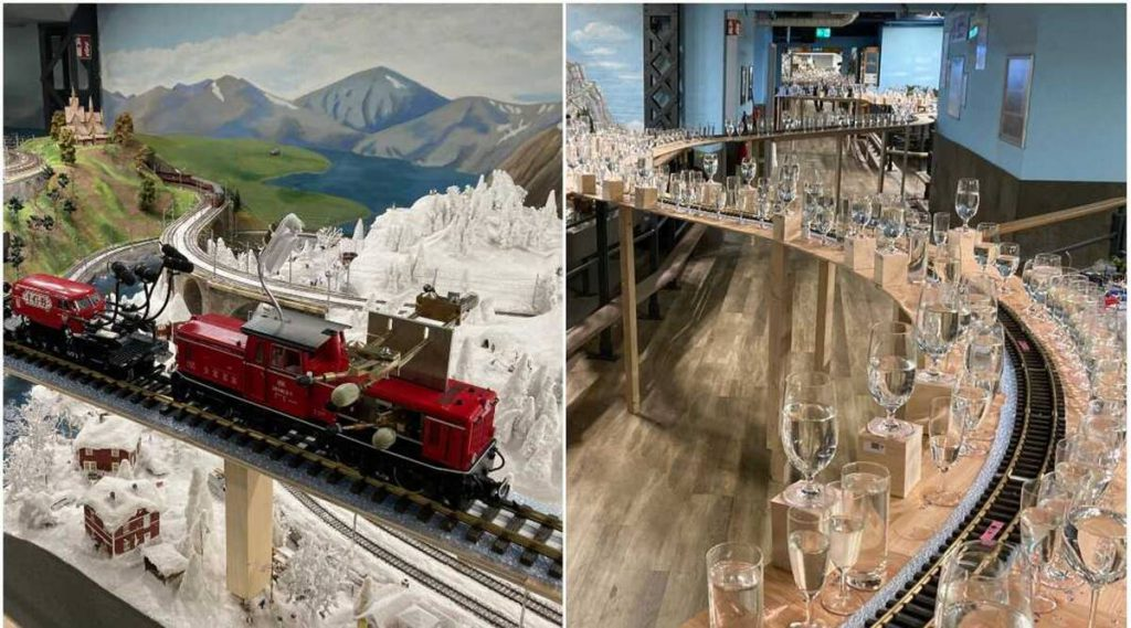 model train, guinness