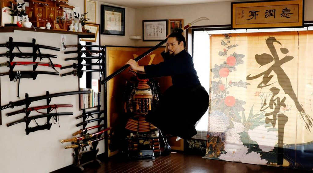 Samurai dance teacher moves online as Tokyo Olympics bans foreign spectators