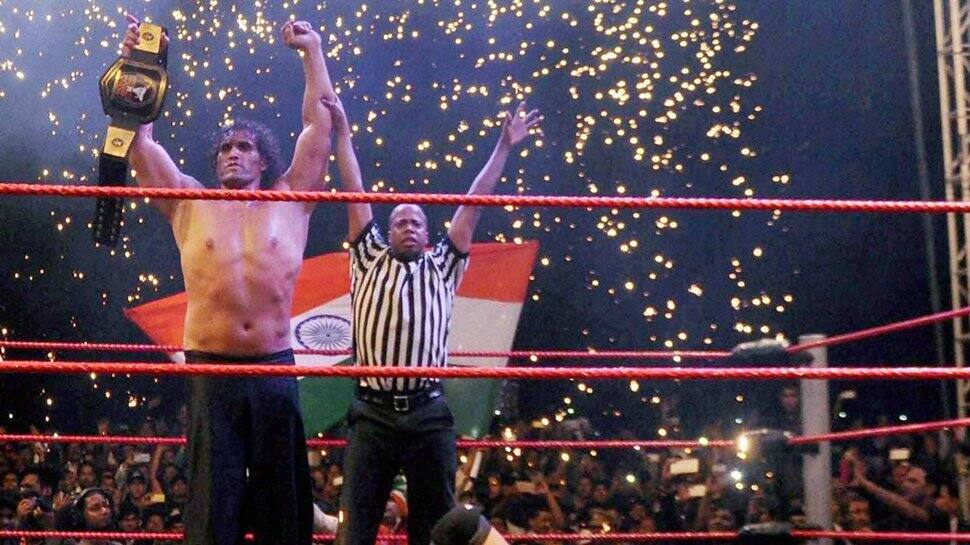 The Great Khali inducted in WWE Hall of Fame, Bobby Lashley, Drew McIntyre and others react - WATCH